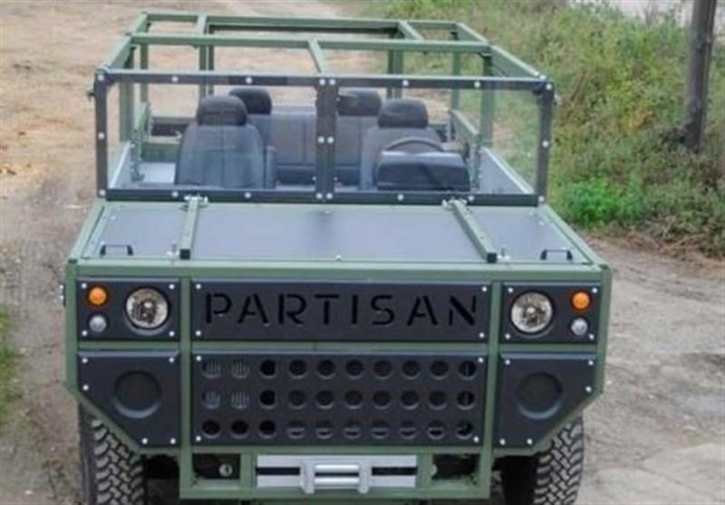 پارتیزان؛ خودروی نظامی عجیب با گارانتی 100 ساله + عکس