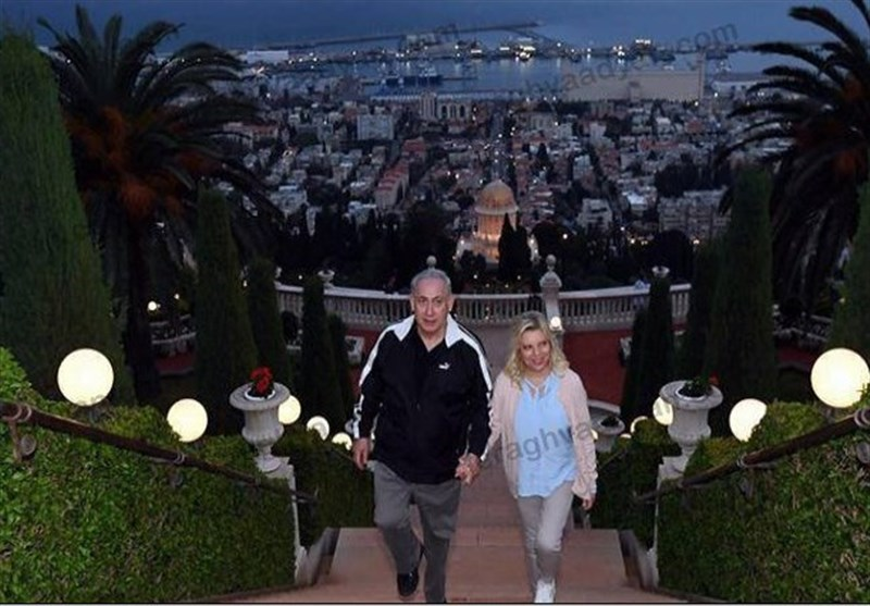 بازدید نتانیاهو از مرکز اصلی تشکیلات بهائیت در حیفا