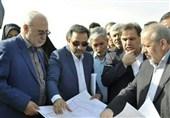 بازدید وزیر راه از پروژه کنارگذر شرق و طرح توسعه فرودگاه بینالمللی اصفهان