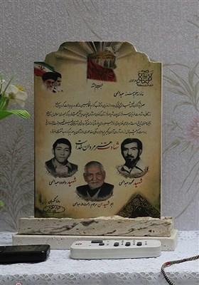 دیدار جامعه قرآنی با خانواده شهیدان عبدالهی