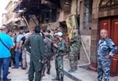 انتحاریان یفجران أحزمتهما الناسفة قرب قیادة شرطة دمشق+ صور