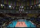 گزارش تصویری دیدار تیم والیبال شهرداری ارومیه و شمس تهران-علی آقایاری