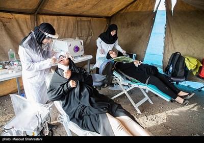 اردوی جهادی گروه جهادی منتظران خورشید در روستای اسماعیل آباد کوچکلو