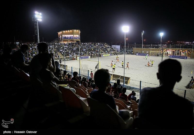 فوتبال ساحلی پرشین کاپ| تغییر در زمان برگزاری بازی ایران - اوکراین