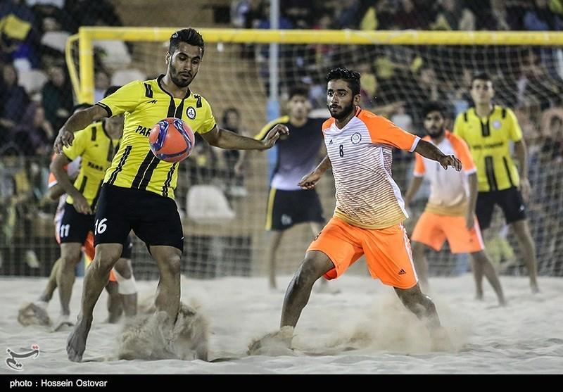 لیگبرتر فوتبال ساحلی| پیروزی تیم دریانوردان بوشهر مقابل ملوان بندرگز