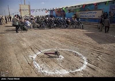 مراسم کلنگزنی مرکز فرهنگی دفاع مقدس استان کرمانشاه