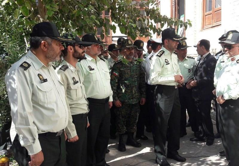 تجدید میثاق پلیس قم با آرمانهای امام راحل و مقام معظم رهبری