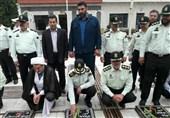 مراسم عطرافشانی مزار شهدای مازندران برگزار شد+ تصاویر