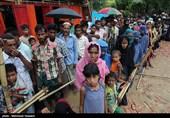 اهدای کمکهای «خانوادههای شهدای منا و مسجدالحرام» به مسلمانان میانمار