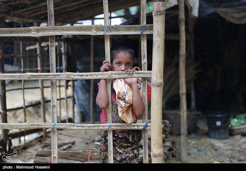بزن آوارگان میانماری