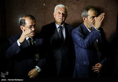 راجح صابر عبود الموسوی سفیر عراق در مراسم یادبود جلال طالبانی در تهران