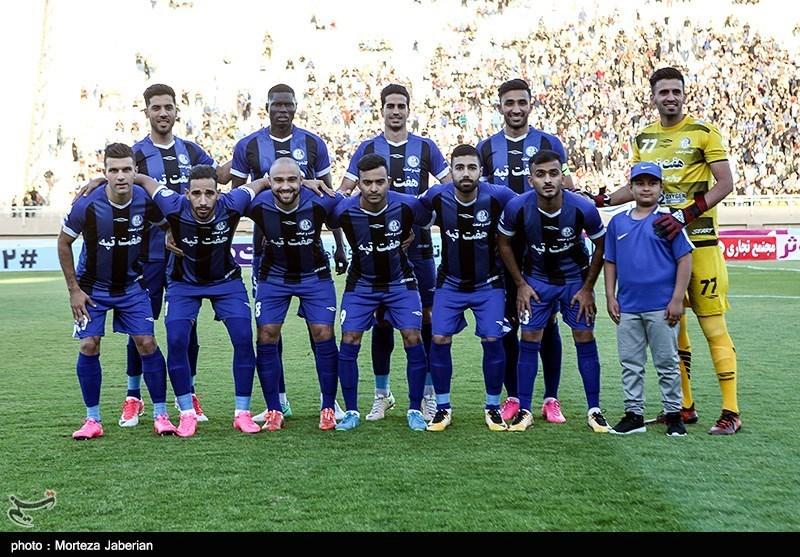 دیدار تیم های فوتبال پرسپولیس و استقلال خوزستان