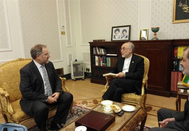 دیدار مشاور علمی وزیر خارجه انگلیس با صالحی