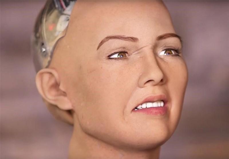 """""""سوفیا"""" نخستین زن روبات حاضر در مقر سازمان ملل + تصاویر -  Tasnim"""