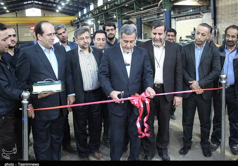 افتتاح خط تولید توزین در حال حرکت در کاشان