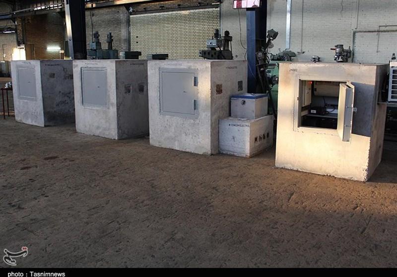 افتتاح خط تولید سیستم توزین در حال حرکت در کاشان