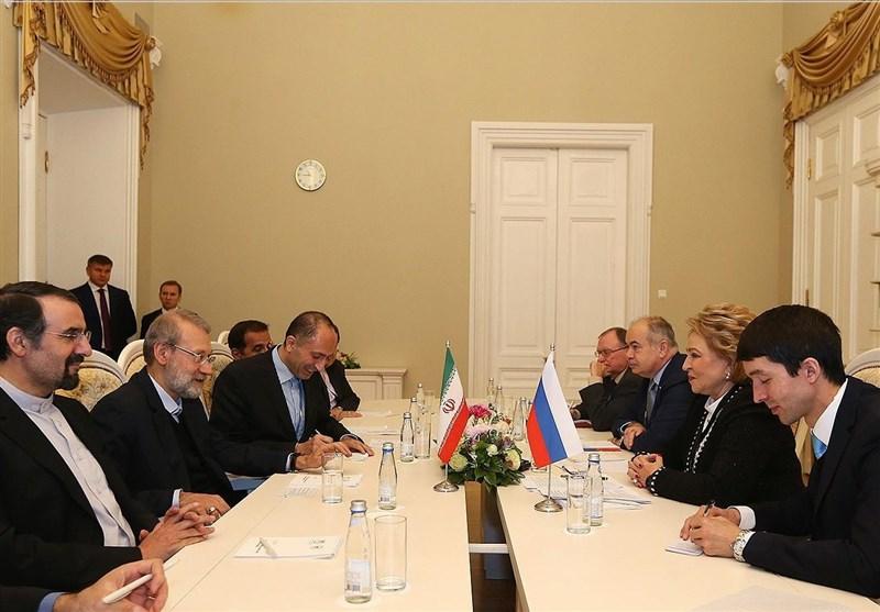 لاریجانی: تحریم آمریکا علیه روسیه و ایران خلاف قواعد بینالمللی است