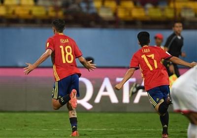 صعود تیمهای برزیل و اسپانیا