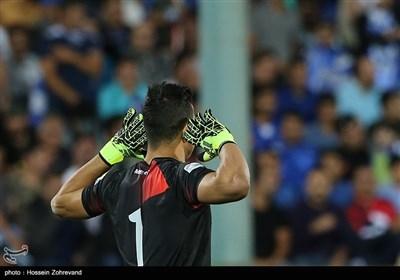 حامد لک دروازه بان تیم فوتبال فولاد خوزستان