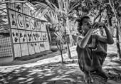 روز پرماجرای کمپ «حکیم پارا»/ پذیرایی گرم آوارگان میانماری از مهمانِ ایرانی + تصاویر