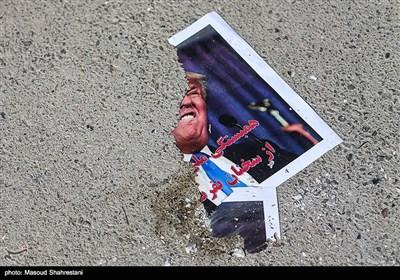 Students in Tehran Condemn Trump's Anti-Iran Speech