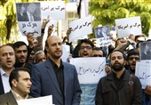 تجمع دانشگاهیان علم و صنعت در اعتراض به اظهارات رئیسجمهور آمریکا