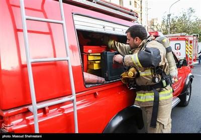 آتش سوزی در بیمارستان یاس