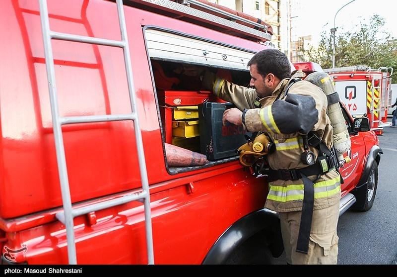 آتشسوزی بامدادی در طبقه ششم پاساژ علاءالدین