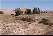 خشک شدن رودخانه در جارود هفتگل