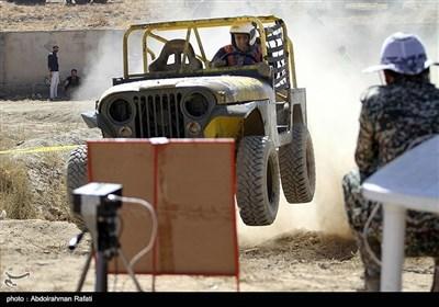 ایران کے شہر ھمدان میں جیپ ریلی
