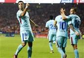 سوارس جای ریوالدو را در جدول برترین گلزنان تاریخ بارسلونا در لالیگا گرفت