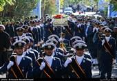 تشییع و تدفین شهید گمنام در شهرک شهید صادقی