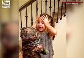 واکنش بی بدیل یک دختربچه به هدیه تولد پدرش+فیلم