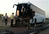 One Killed in Indian Bus Crash in Iran's Northeastern Province