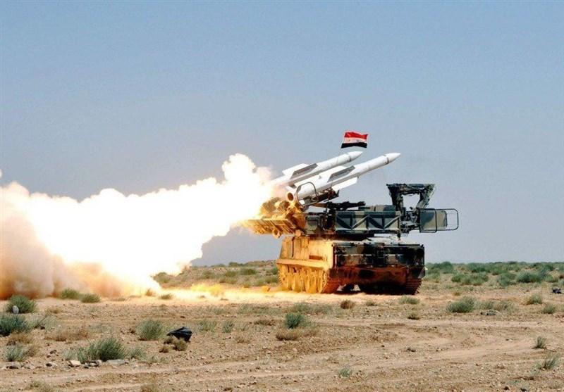 پدافند هوایی سوریه با حمله رژیم صهیونیستی به قنیطره مقابله کرد