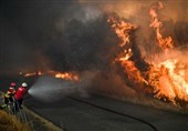 700 Firefighters in Portugal Battle Wildfire West of Lisbon