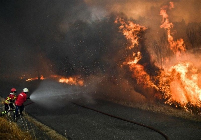 30 Killed as Wildfires Rage in Portugal, Spain