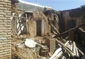 خانه تخریب شده