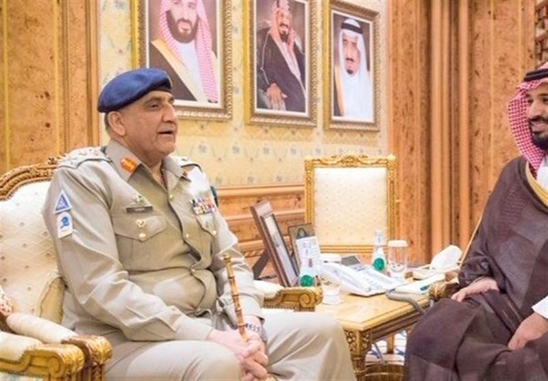 پاک فوج کے سربراہ سے سعودی ولی عہد شہزادہ محمد بن سلمان کی ملاقات