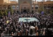 تجمع بزرگ طلاب حوزه علمیه قم در محکومیت حملات وحشیانه به ملت مظلوم یمن برگزار شد