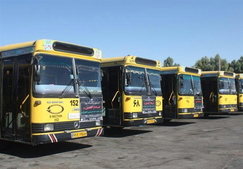 600 دستگاه اتوبوس برای انتقال زائران از بوشهر به مرز شلمچه اختصاص یافت