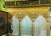 حضور سرلشکر باقری در حرم حضرت رقیه (س) + تصاویر