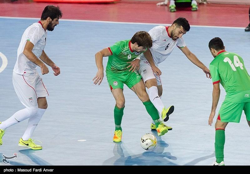 فوتسال مقدماتی جام ملتهای آسیا - ایران و تاجیکستان