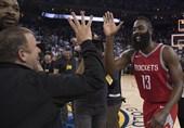 لیگ NBA|پیروزی راکتس با امتیازهای هاردن/ شکست سنگین سانز در دنور