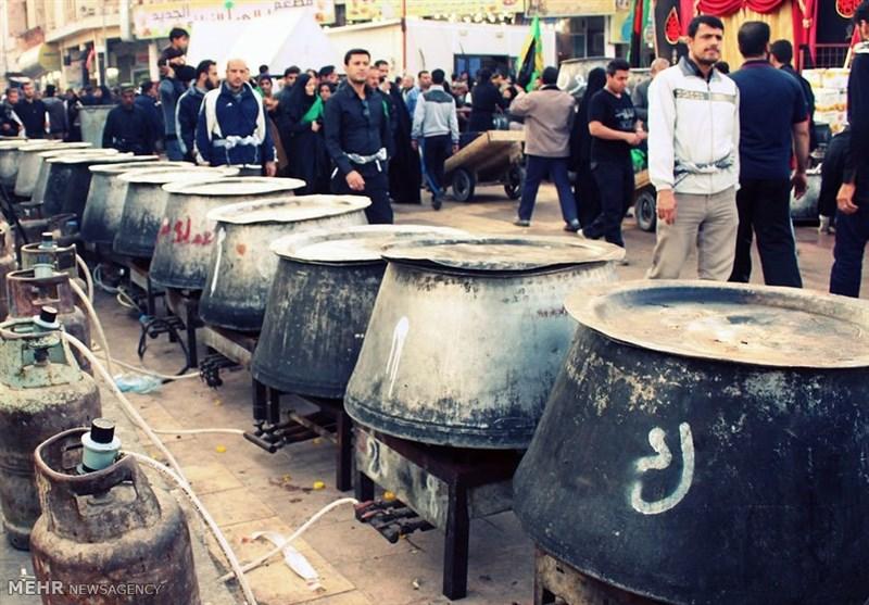 عراقیها در پذیرایی از زائران اربعین کار بزرگی انجام می دهند