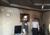 انفجار شدید و آتشسوزی در ساختمان 4 طبقه + تصاویر