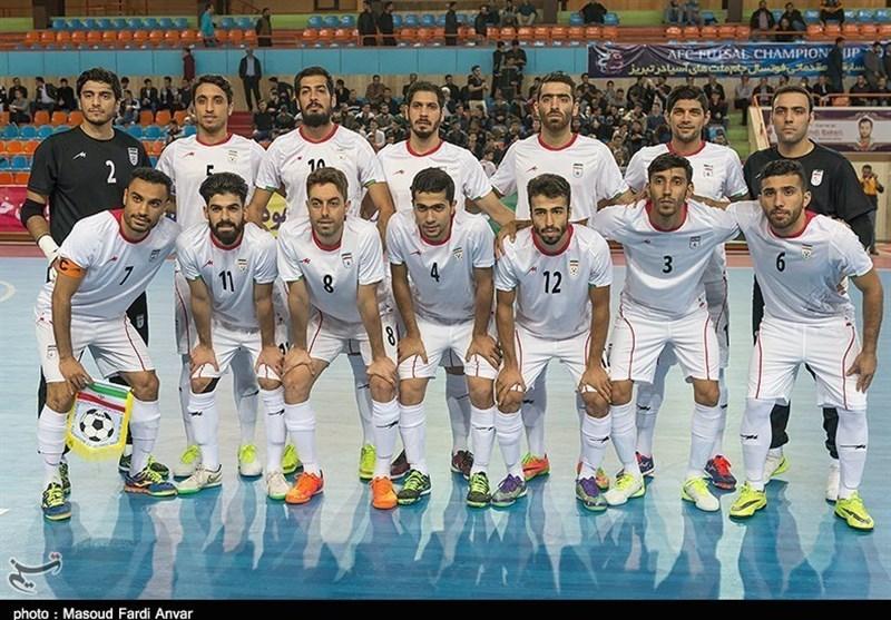 منتخب ایران لکرة الصالات یحتفظ بالمرکز الخامس عالمیاً