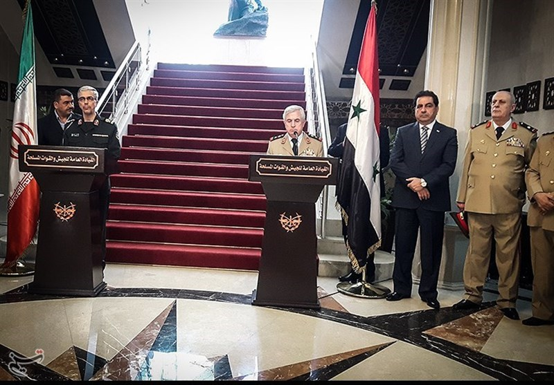 Iranian, Syrian Top Generals Meet in Damascus, Discuss Key Issues