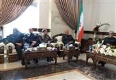 دیدار سرلشگر باقری با وزیر دفاع سوریه+تصاویر