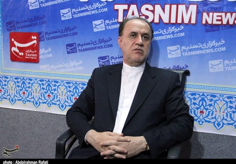 حاجی بابایی در دفتر همدان